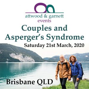 Attwood and Garnett: Couples and Apsergers Syndrome – Brisbane 21 March 2020